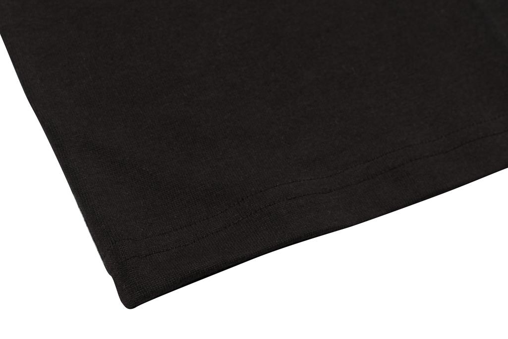 3sixteen Heavyweight Henley T-Shirt - Black - Image 3