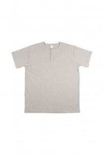 3sixteen Heavyweight Henley T-Shirt - Gray - Image 0