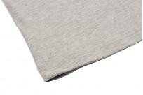 3sixteen Heavyweight Henley T-Shirt - Gray - Image 3
