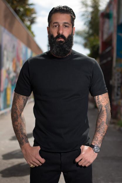 Iron Heart Super Duper Heavy 11oz T-Shirt - Heavy Black