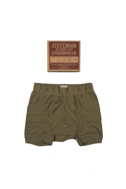 Stevenson Tanguis Cotton Athletic Boxer Briefs - Olive