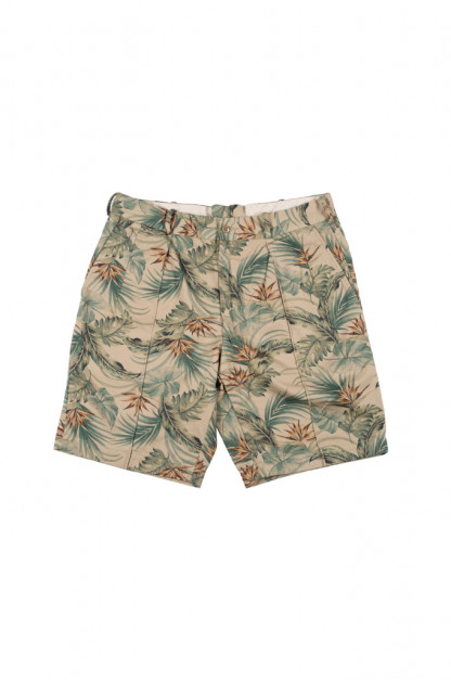 Stevenson Weekend Warrior Shorts - Beige Flower Party