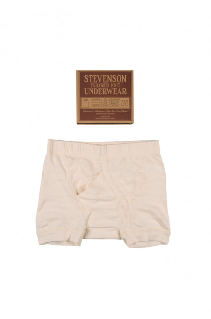 Stevenson Tanguis Cotton Athletic Boxer Briefs - Natural