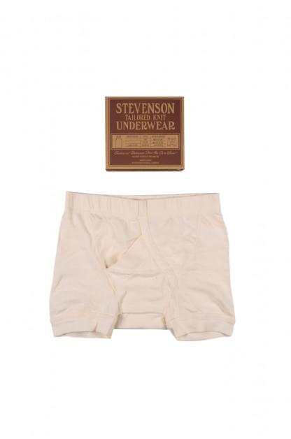Stevenson Tanguis Cotton Athletic Boxer Briefs - Natural