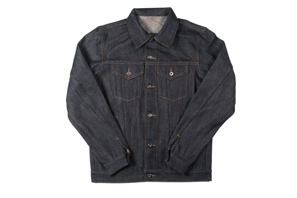 3sixteen+ 16.5oz Caustic Wave Denim - Type III Modified Jacket - Image 2