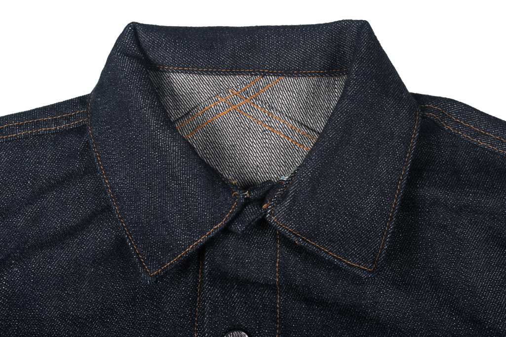 3sixteen+ 16.5oz Caustic Wave Denim - Type III Modified Jacket - Image 4