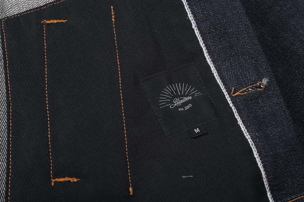 3sixteen+ 16.5oz Caustic Wave Denim - Type III Modified Jacket - Image 8