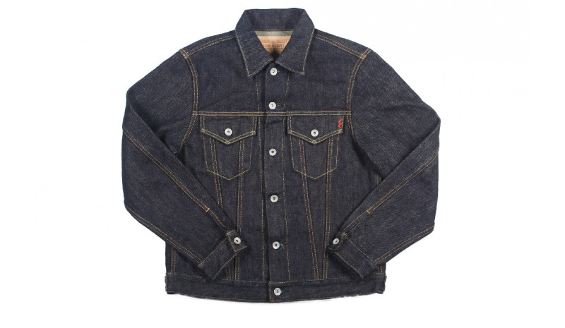 443d1cae28 Iron Heart Type III Selvedge Jacket