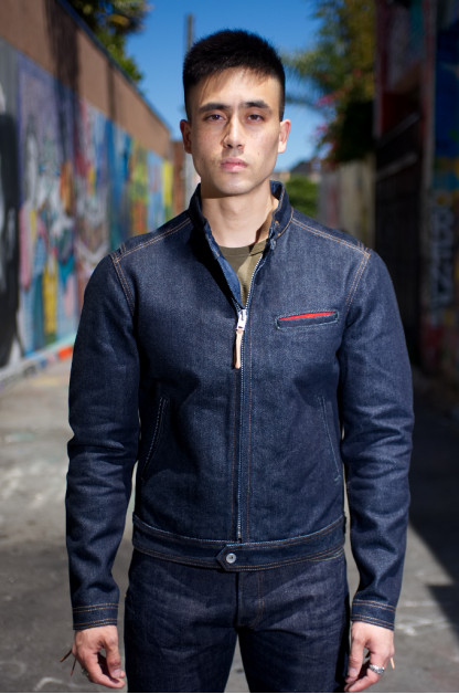 Iron Heart Riders Jacket - Indigo