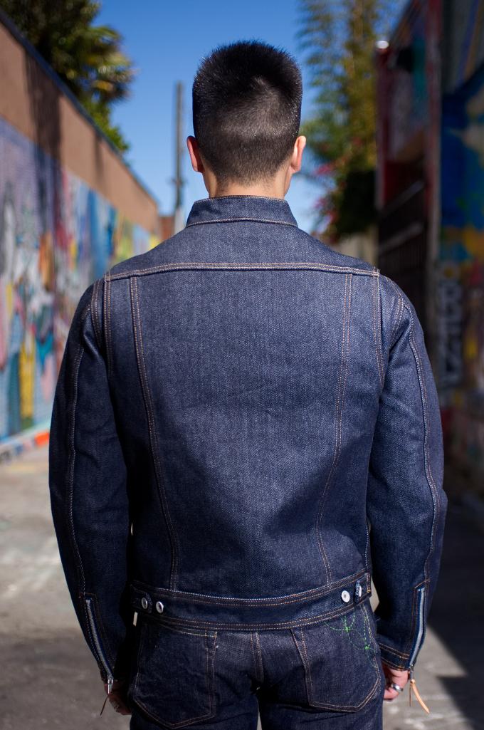 Iron Heart Rider's Jacket - Indigo - Image 1