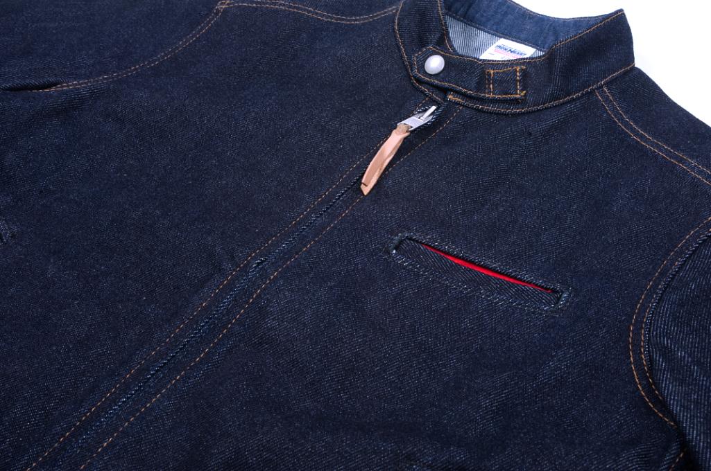 Iron Heart Rider's Jacket - Indigo - Image 3