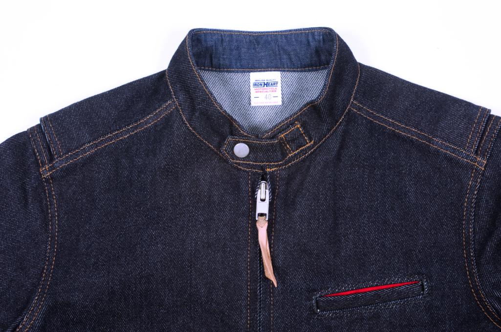 Iron Heart Rider's Jacket - Indigo - Image 4