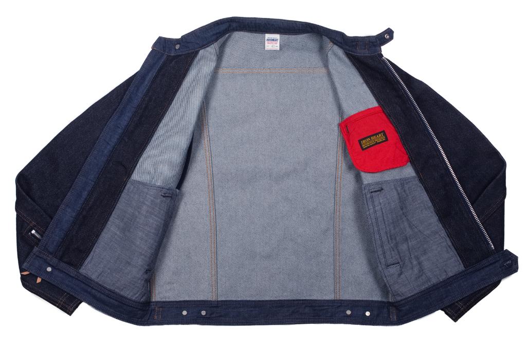 Iron Heart Rider's Jacket - Indigo - Image 5