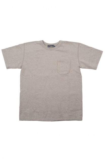 Studio D'Artisan Suvin Gold Loopwheeled T-Shirt - Heather Gray