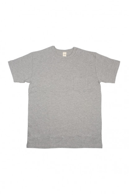 3sixteen Heavyweight T-Shirts / 2-Pack - Gray w/ Pockets