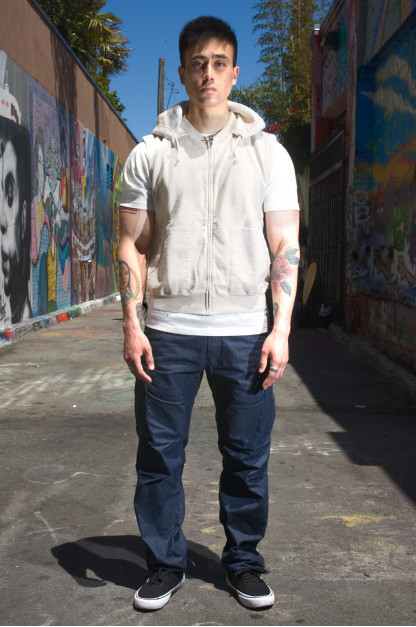 Stevenson Recon Fatigue Trousers - Indigo Yarn-Dyed Ripstop