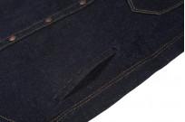 Iron Heart 18oz Denim CPO Shirt w/ Hand Pockets - Indigo - Image 5