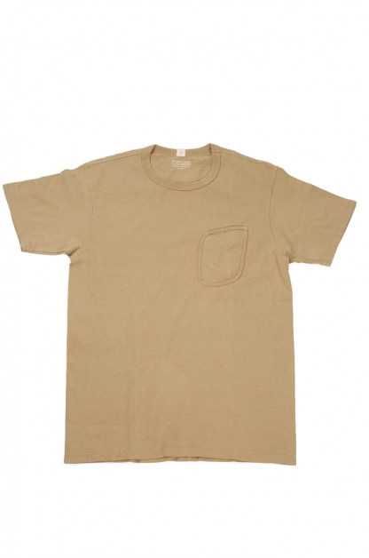 Lady White Clark Pocket Tee - Khaki Fog