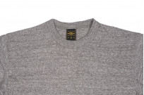 Iron Heart 6.5oz Heavy Loopwheeled T-Shirt - Light Gray - Image 1