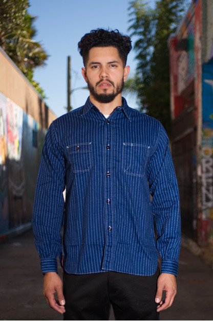 Sugar Cane Fiction & Romance 8.5oz Wabash Workshirt
