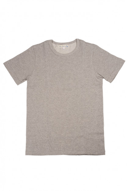 Merz b. Schwanen 2-Thread Heavy Weight T-Shirt - Gray Melange