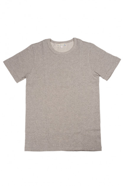 Merz b. Schwanen 2-Thread Heavy Weight T-Shirt - Gray Melange