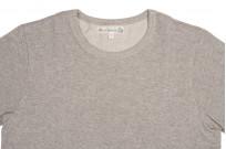 Merz b. Schwanen 2-Thread Heavy Weight T-Shirt - Gray Melange - Image 1