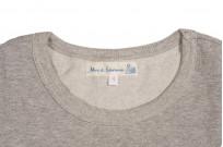 Merz b. Schwanen 2-Thread Heavy Weight T-Shirt - Gray Melange - Image 2