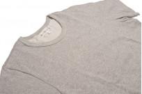 Merz b. Schwanen 2-Thread Heavy Weight T-Shirt - Gray Melange - Image 3