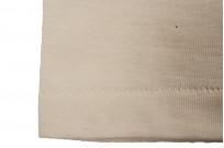 Merz b. Schwanen 2-Thread Heavy Weight T-Shirt - Henley Natural - Image 3