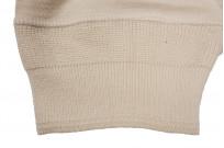Merz b. Schwanen 2-Thread Heavy Weight T-Shirt - Henley Natural - Image 4