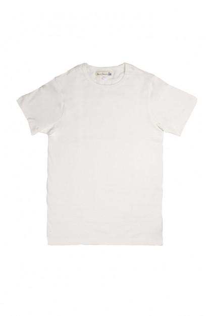 Merz b. Schwanen 2-Thread Heavy Weight T-Shirt - White