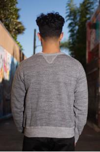 Stevenson Loopwheeled Extra Long Staple Cotton Sweatshirt - Gray - Image 1
