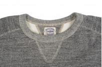Stevenson Loopwheeled Extra Long Staple Cotton Sweatshirt - Gray - Image 4