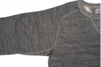 Stevenson Loopwheeled Extra Long Staple Cotton Sweatshirt - Gray - Image 5