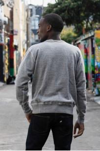 Buzz Rickson Flatlock Seam Crewneck Sweater - Gray - Image 3