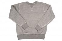 Buzz Rickson Flatlock Seam Crewneck Sweater - Gray - Image 4