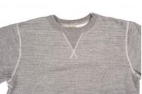 Buzz Rickson Flatlock Seam Crewneck Sweater - Gray - Image 5