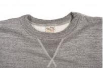 Buzz Rickson Flatlock Seam Crewneck Sweater - Gray - Image 6