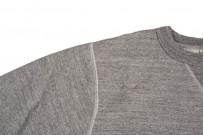 Buzz Rickson Flatlock Seam Crewneck Sweater - Gray - Image 7