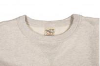 Buzz Rickson Flatlock Seam Crewneck Sweater - Oatmeal - Image 5
