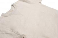 Buzz Rickson Flatlock Seam Crewneck Sweater - Oatmeal - Image 7