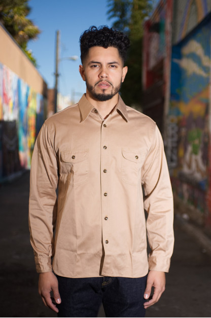 Buzz Rickson Herringbone Twill Workshirt