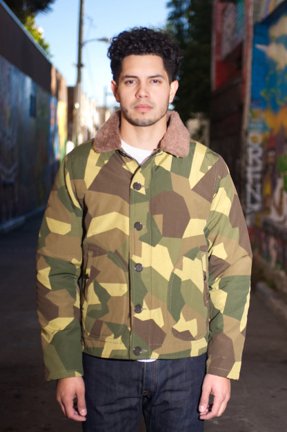 Iron Heart N-1 Deck Jacket - Camouflage