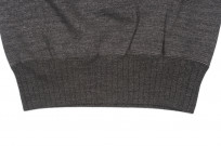 Studio D'Artisan Loopwheeled Sweater - Suvin Gold Heather Black - Image 5