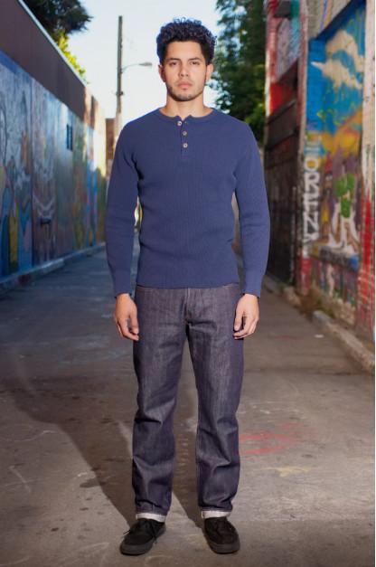 Studio D'Artisan Suvin Gold Cotton Fiber Jeans