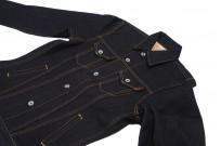 Iron Heart Left Hand Twill Denim 19oz Jacket - Modified - Image 5