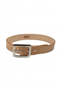 Iron Heart Heavy Duty Cowhide Belt - Nickel/Tan - Image 0