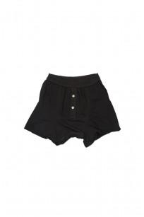 Merz B. Schwanen Loopwheeled Boxer Brief Underwear - Black - Image 0