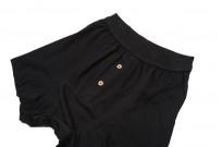 Merz B. Schwanen Loopwheeled Boxer Brief Underwear - Black - Image 1